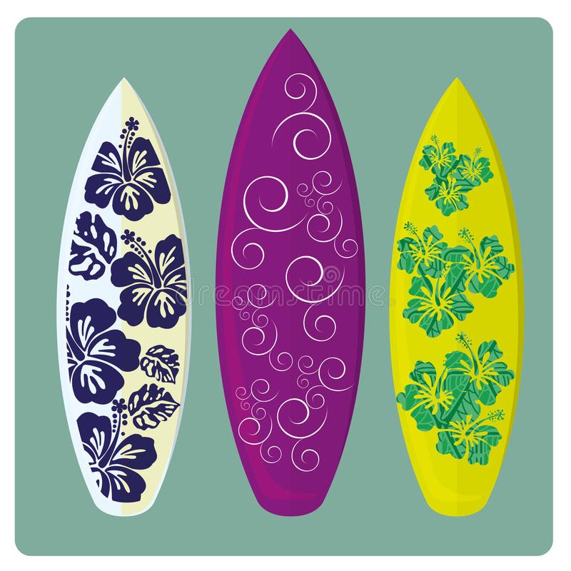 Download Surf stock vector. Image of purple, green, pattern, holiday - 36080806