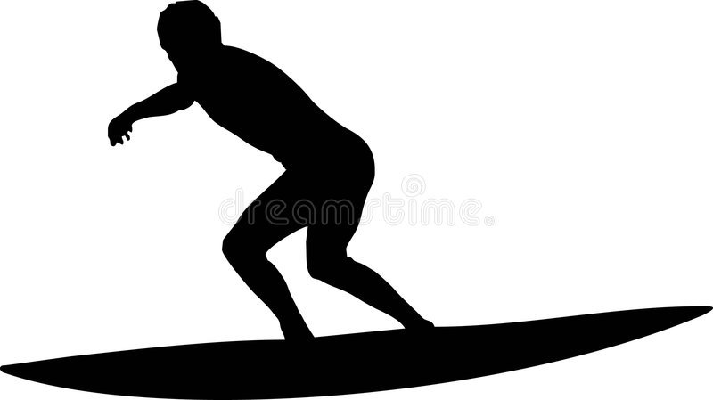 Download Surf in the wave stock vector. Image of life, activity - 3527117