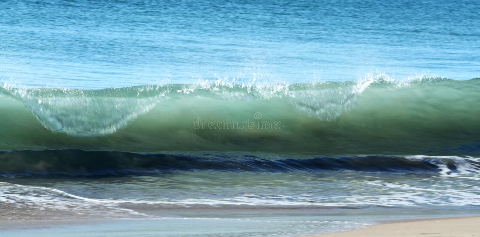 Download Surf Waves & beach sand stock photo. Image of surf, salty - 14859568