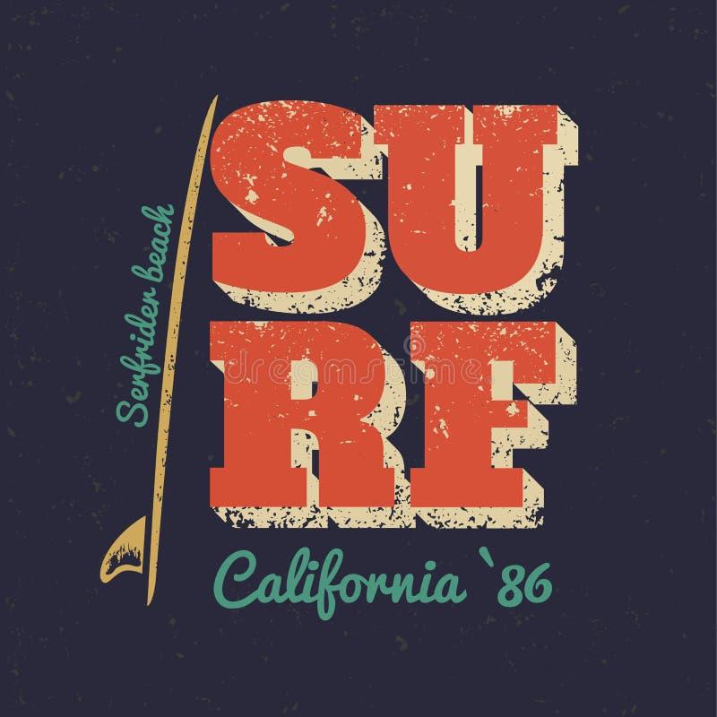 surfa royaltyfri illustrationer