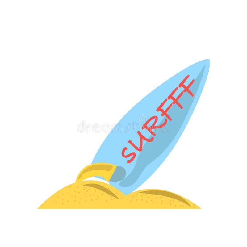 Surfa det symbolsvektortecknet och symbolet som isoleras på vit bakgrund som surfar logobegrepp royaltyfri illustrationer