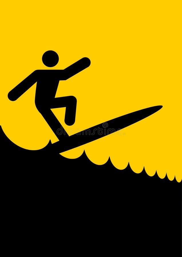 surfa för diagramman royaltyfri illustrationer
