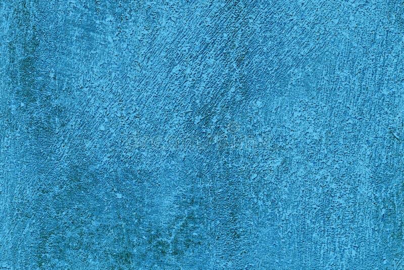 Surfac грязи Grungy стены капания предпосылки текстуры конкретной голубое грубое стоковая фотография rf