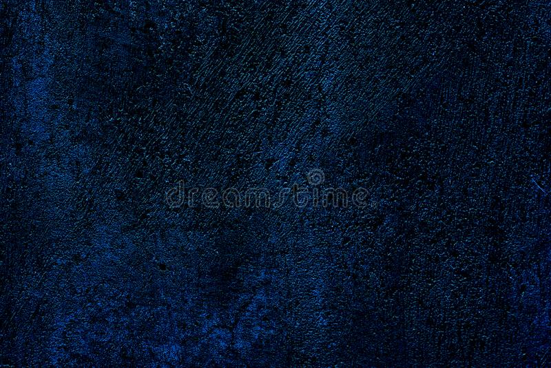 Surfac грязи Grungy стены капания предпосылки текстуры конкретной темной голубое грубое стоковые изображения