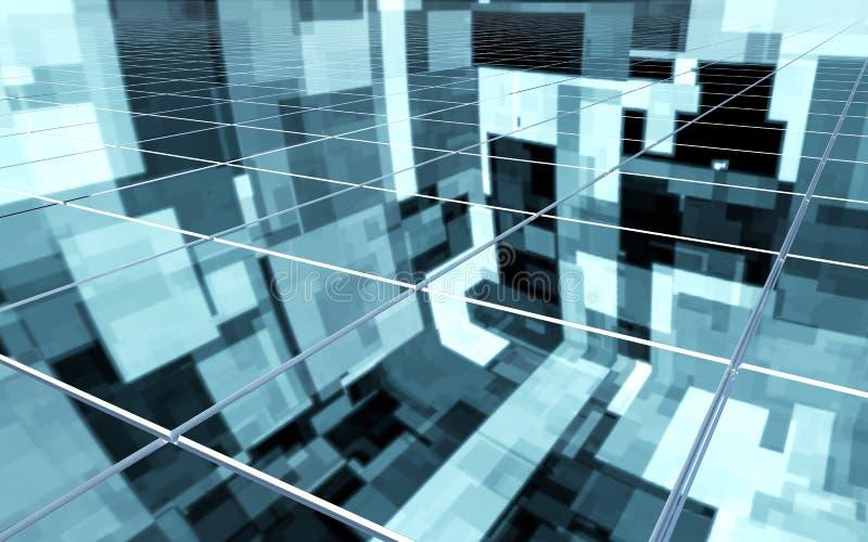 Surface abstraite illustration stock