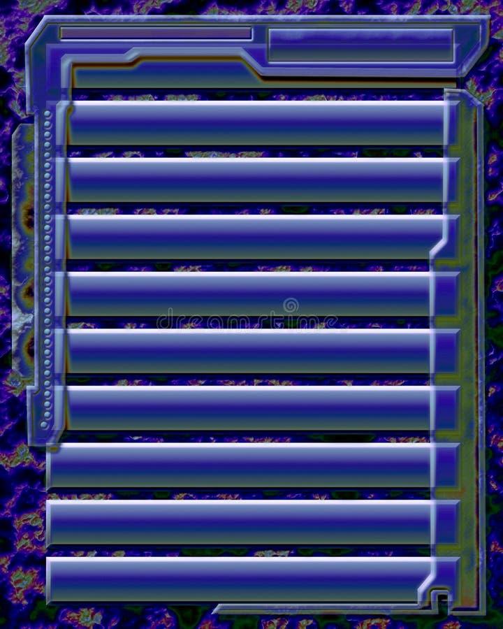 Surface adjacente 2 illustration libre de droits