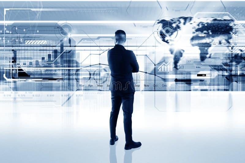 Surface adjacente futuriste photos stock