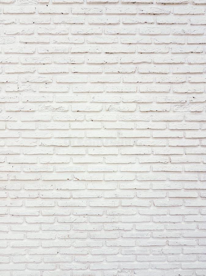 Surface blanche abstraite de mur de briques image stock