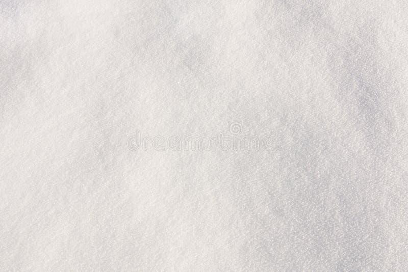 Surface blanche de neige image libre de droits