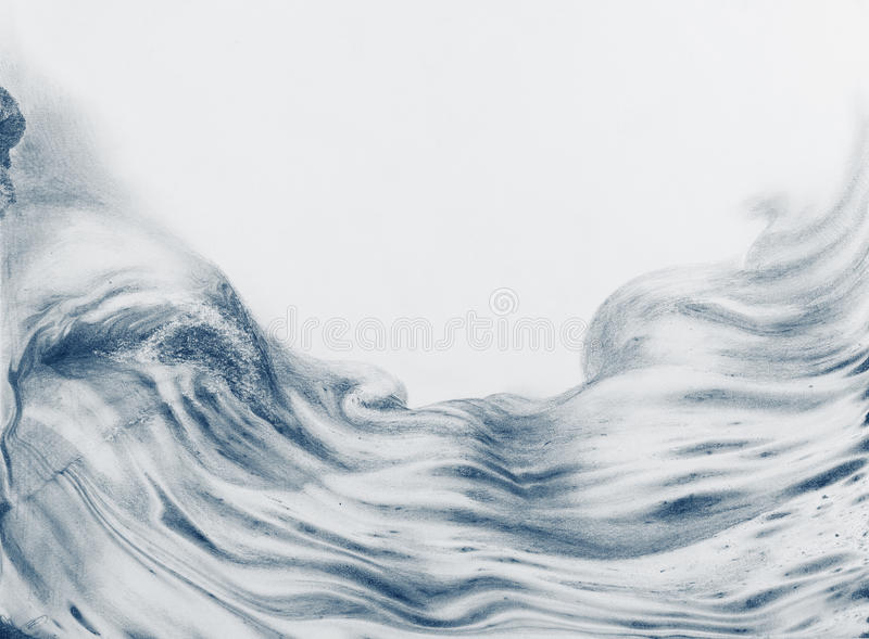 Surface bleu-foncé mystérieuse illustration stock