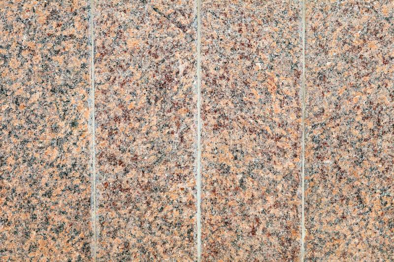 Surface of blocks of pink granite. Background image, texture royalty free stock photo