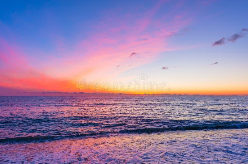 Surface calme de la mer photographie stock libre de droits