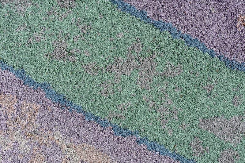 Surface colorée comme fond - violet, vert, bleu, diagonal photo libre de droits