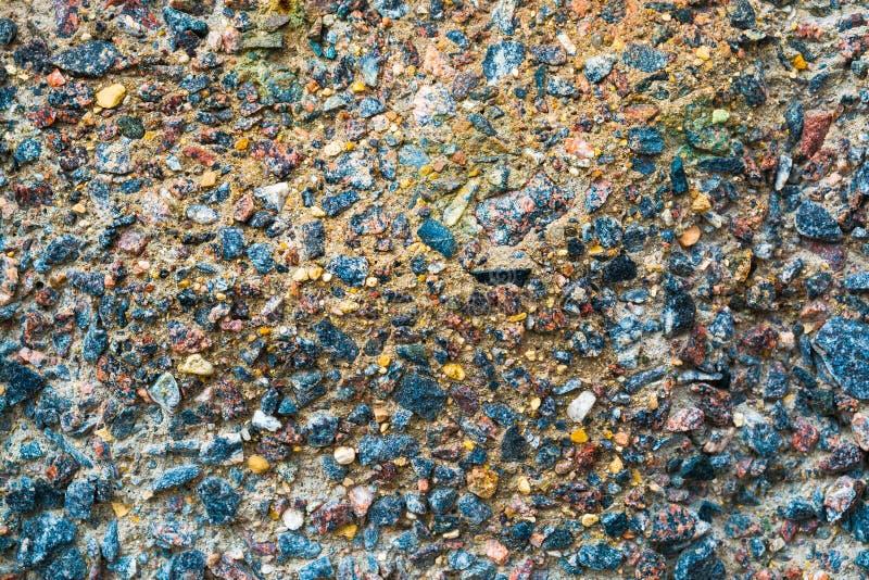 Surface colorée de s'effondrer, mur en béton corrosif Texture, vieux fond de plat image libre de droits