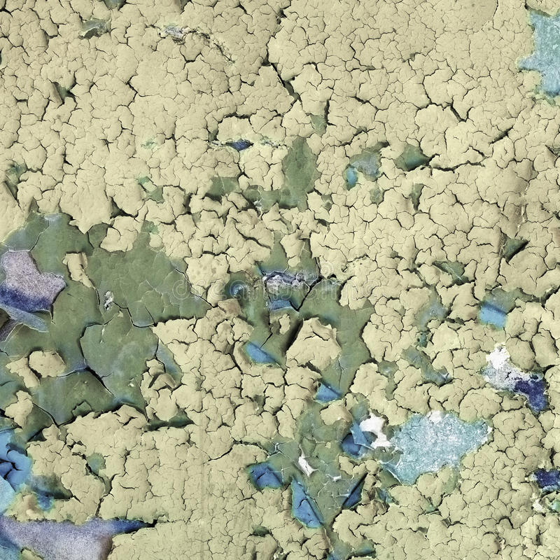 Download Surface Colored Peeling Old Paint Stock Image - Image: 14451645