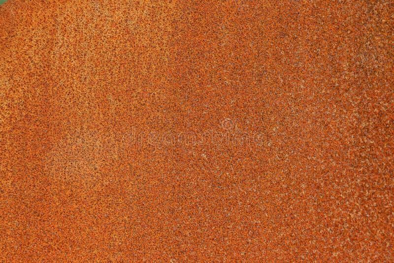 Surface d'un vieux, rouillé morceau de fer, fond images stock