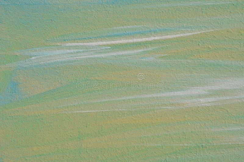 Surface de contreplaqué avec la peinture malpropre photographie stock libre de droits