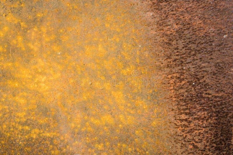 Surface de fer rouillé, fond rouillé en métal, texture, papier peint images libres de droits