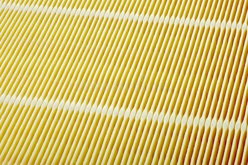 Surface de filtre à air photo stock