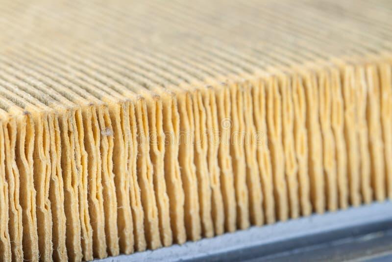 Surface de filtre à air image stock