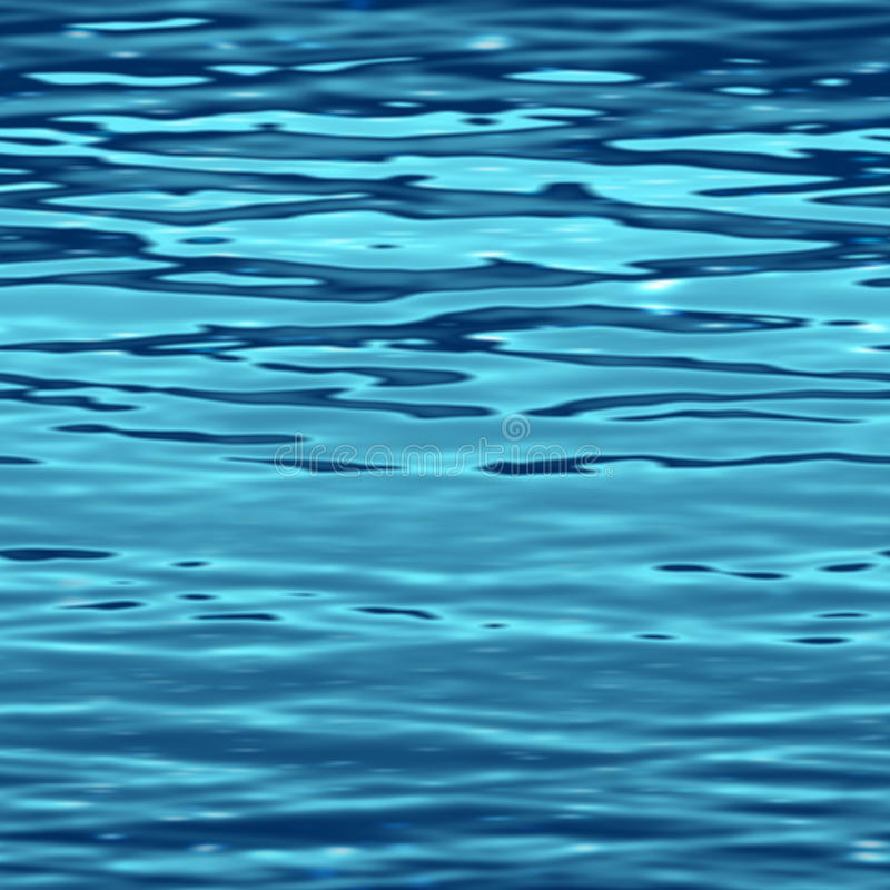Surface de l'eau illustration stock