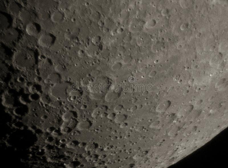 Surface De Lune Photographie stock