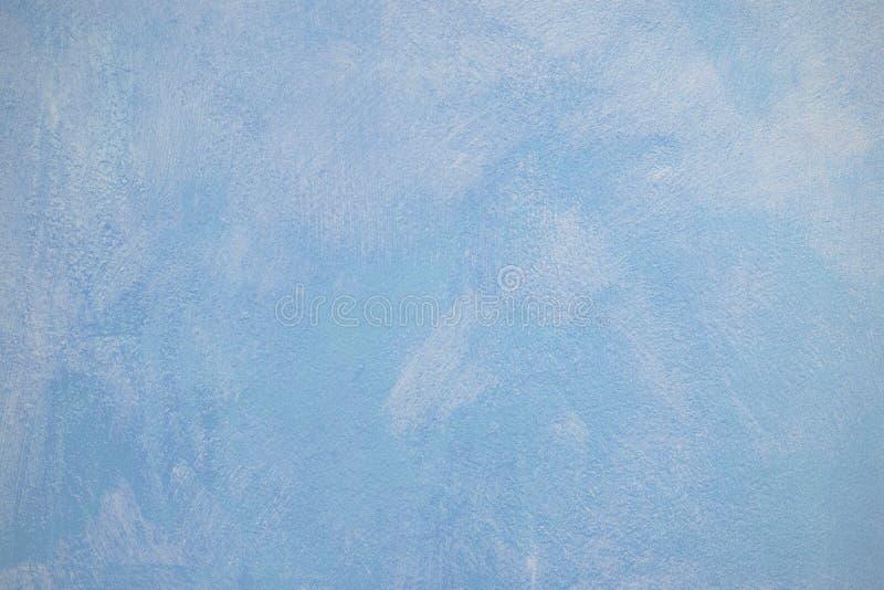 Surface de mur de plâtre de bleu de ciel photographie stock libre de droits