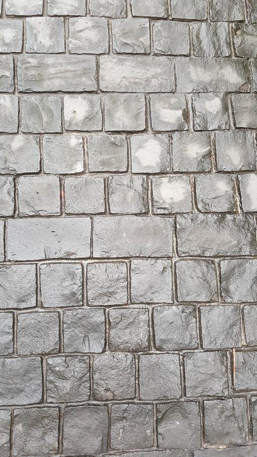 surface de pavage concrète grise photographie stock libre de droits