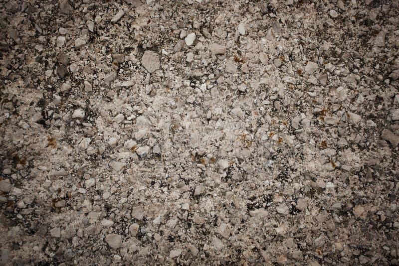 Surface de petites pierres d'une pluralité image stock