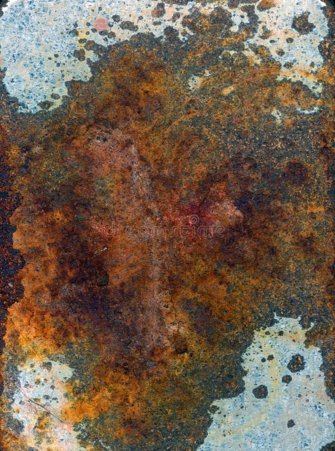 surface de rouille en métal images libres de droits