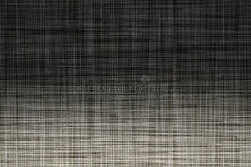 Surface de tissu pour la couverture de livre, élément de toile de conception, couleur grise neutre grunge de texture peinte illustration de vecteur