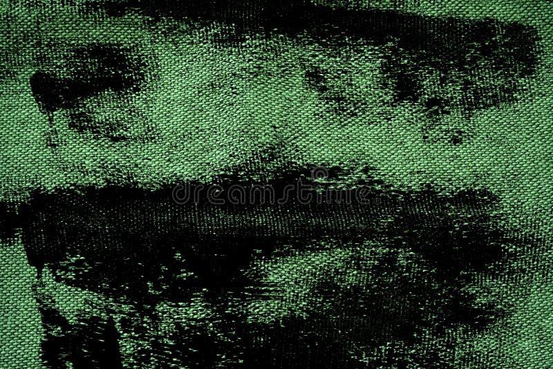 Surface de toile ultra verte de tissu de grunge pour l'usage de maquette ou de concepteur, échantillon, échantillon de couverture image stock