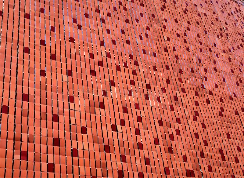 Surface du flocon Rouge photo libre de droits