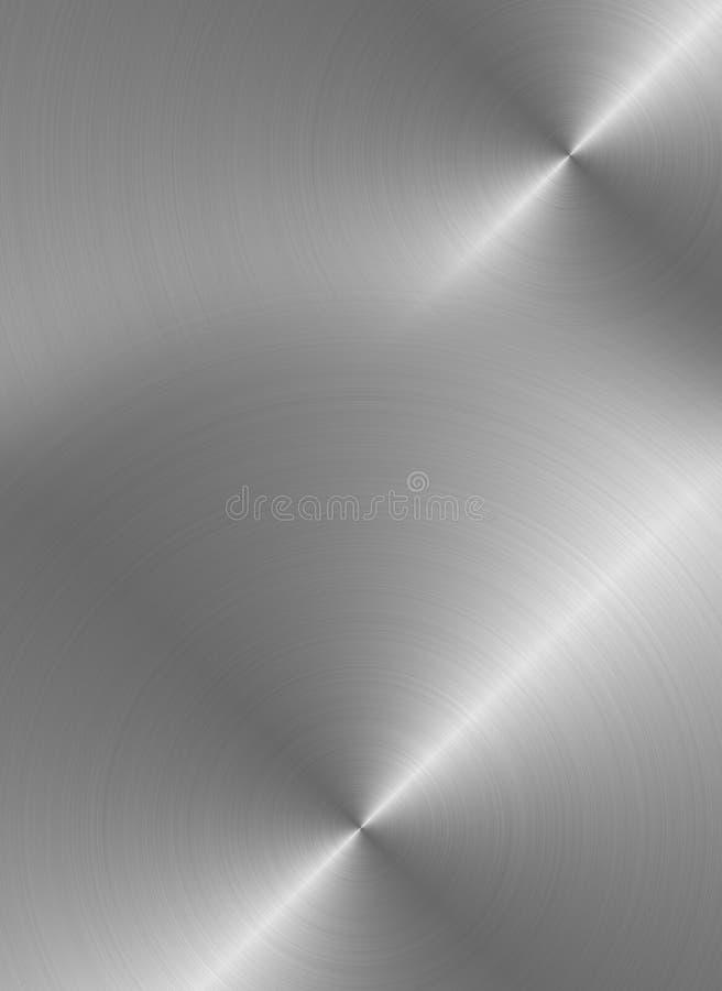 Surface en acier illustration libre de droits