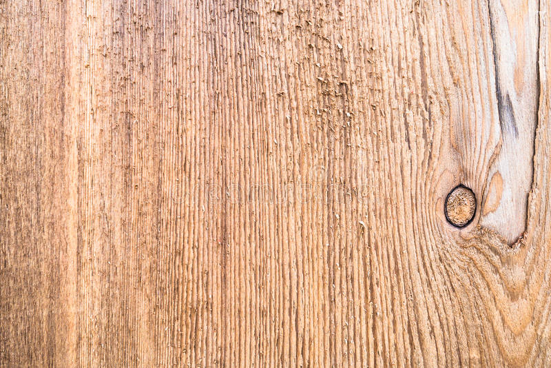 Surface en bois approximative avec de beaux lignes de brun foncé et AG naturels image libre de droits