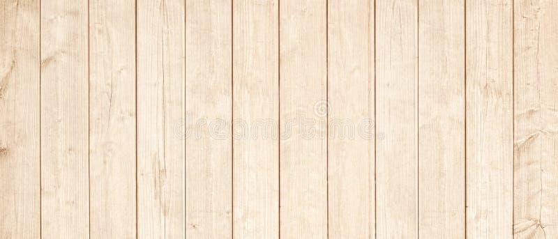 Surface En Bois Brun Clair De Planches De Mur De Table