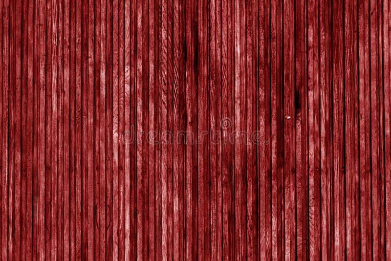 Surface en bois décorative dans le ton rouge illustration stock