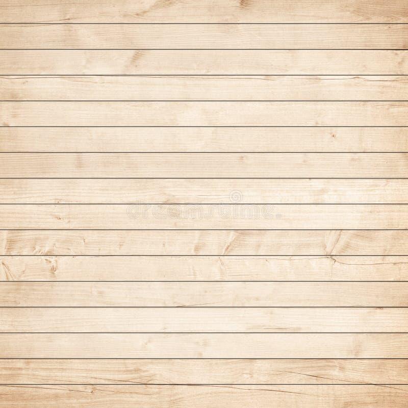 Surface en bois de parquet, de table, de plancher ou de mur de Brown Texture en bois légère photos libres de droits