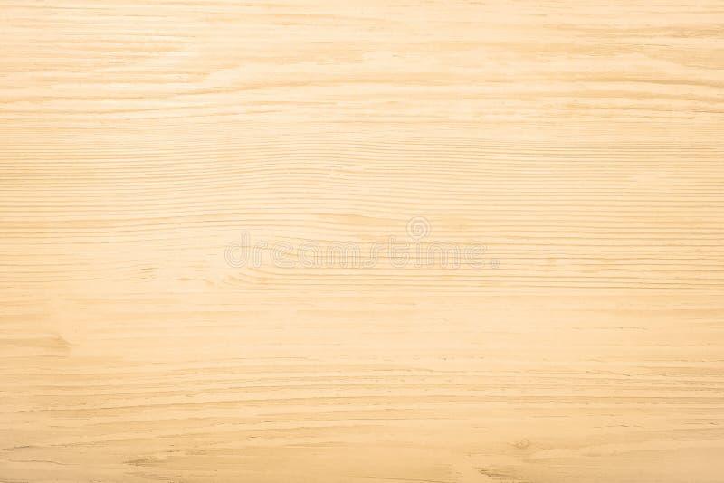 Surface en bois légère de fond de texture avec le vieux modèle naturel ou la vieille vue supérieure en bois de table de texture S photo libre de droits