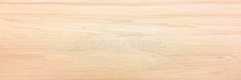 Surface en bois légère de fond de texture avec le vieux modèle naturel ou la vieille vue supérieure en bois de table de texture S image libre de droits