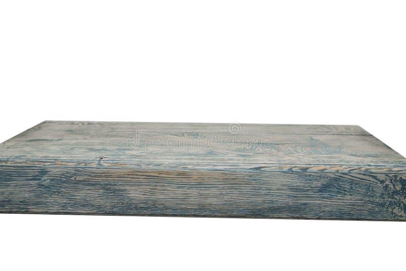 Surface en bois molle légère comme fond, texture en bois, couvercle d'une table en bois sur un fond blanc d'isolement En bois image stock