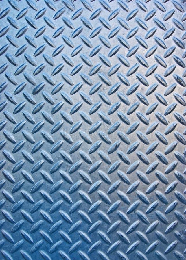 Surface géométrique métallique photo stock