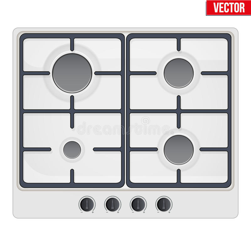 Surface of gas stove stock vector Illustration of gaseous 76119437