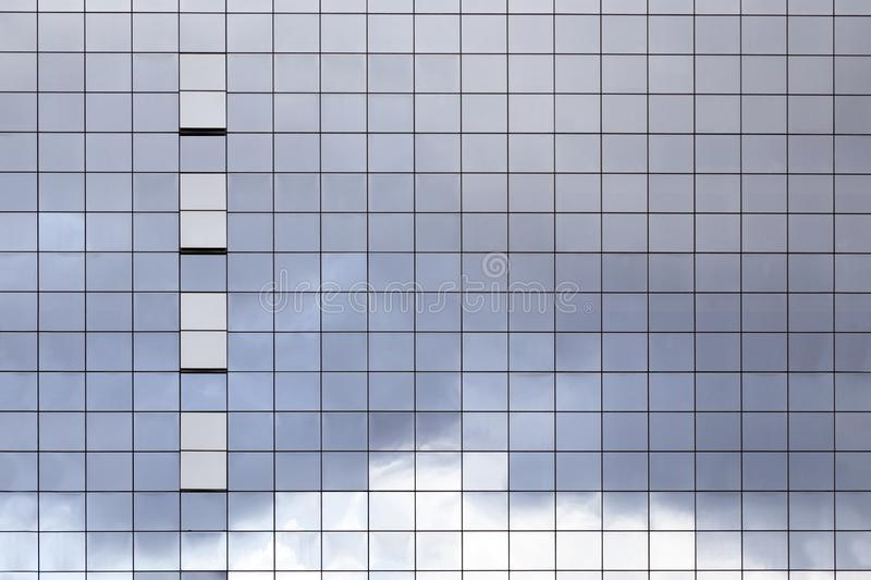 Surface of glass building royalty free stock image