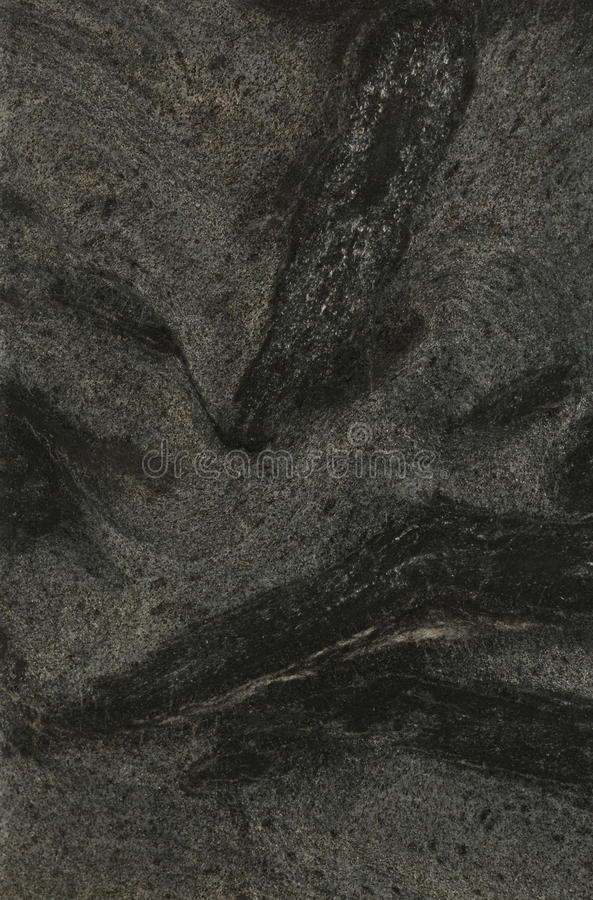 Surface of the granite. Black and grey colours. royalty free stock photography