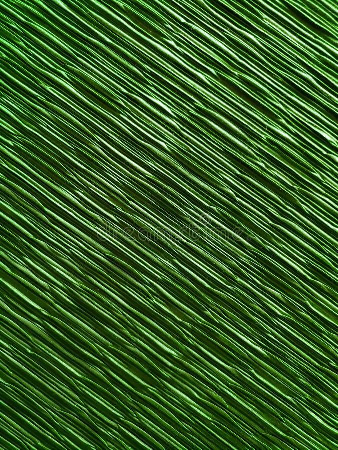 Surface with a green coloured folds fabric, design for interior decoration with elegance and luxury appearance. Surface green coloured folds fabric design vector illustration