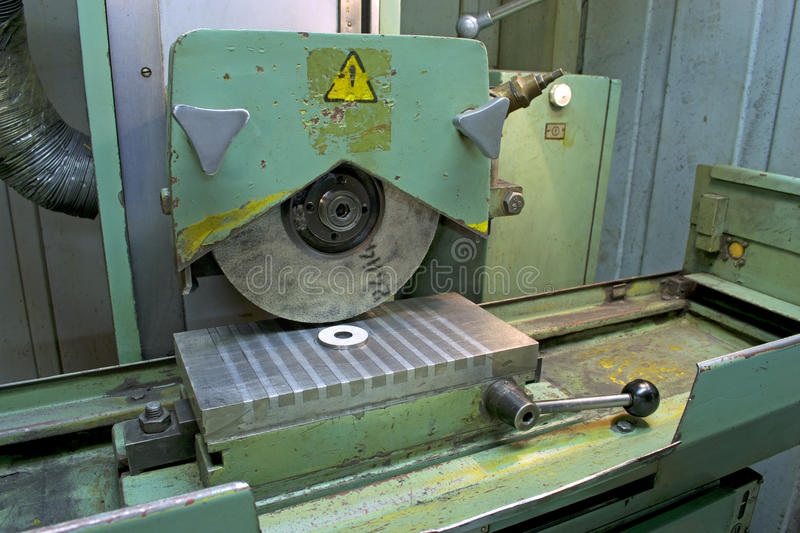 Surface grinder machine royalty free stock photography