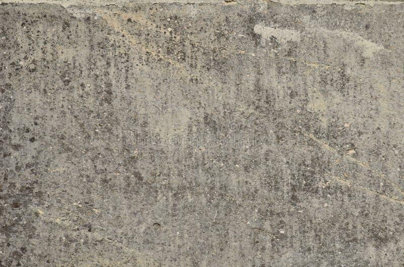 Surface grise superficielle par les agents de la pierre naturelle plate photographie stock libre de droits