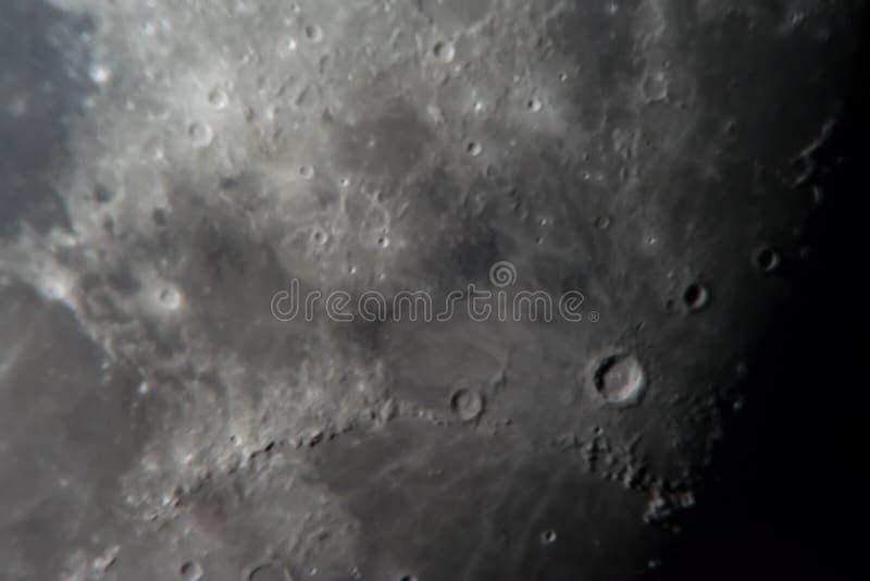 Surface lunaire image stock
