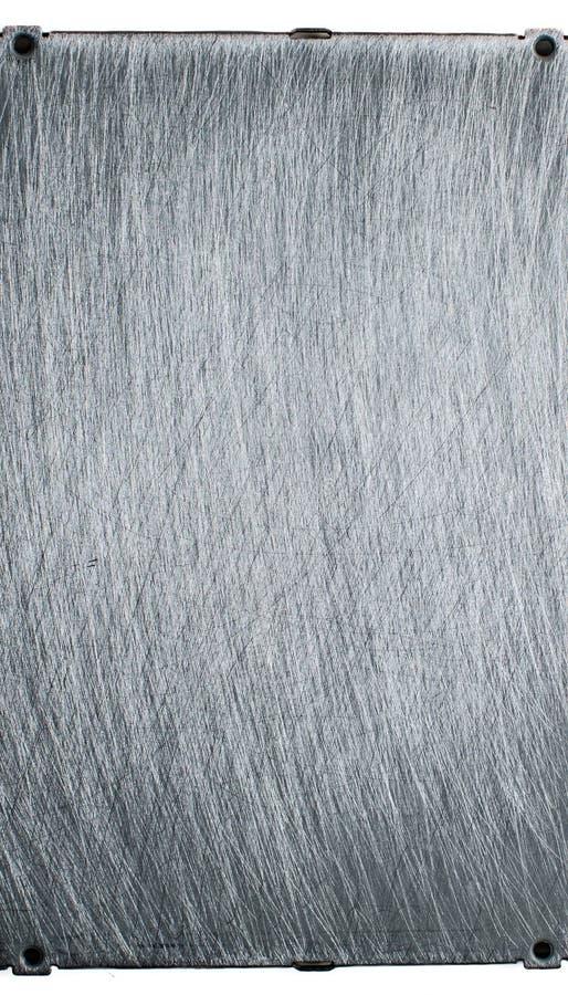 Surface métallique. photos stock